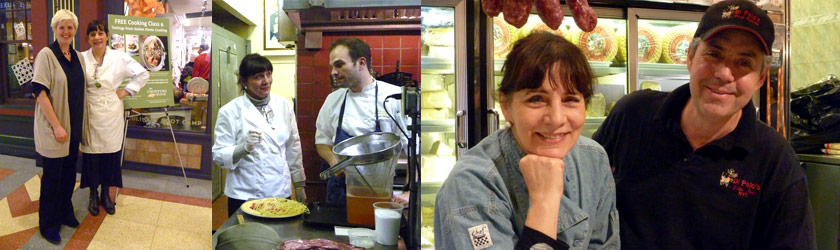 Julia della Croce: foodwriter, chef, consultant - photos of appearances